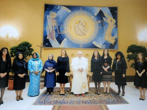 Meeting His Holiness the Pope